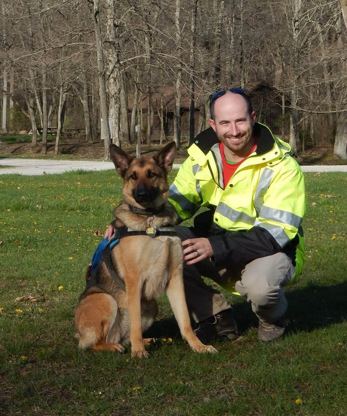 K9 Luna and Nick